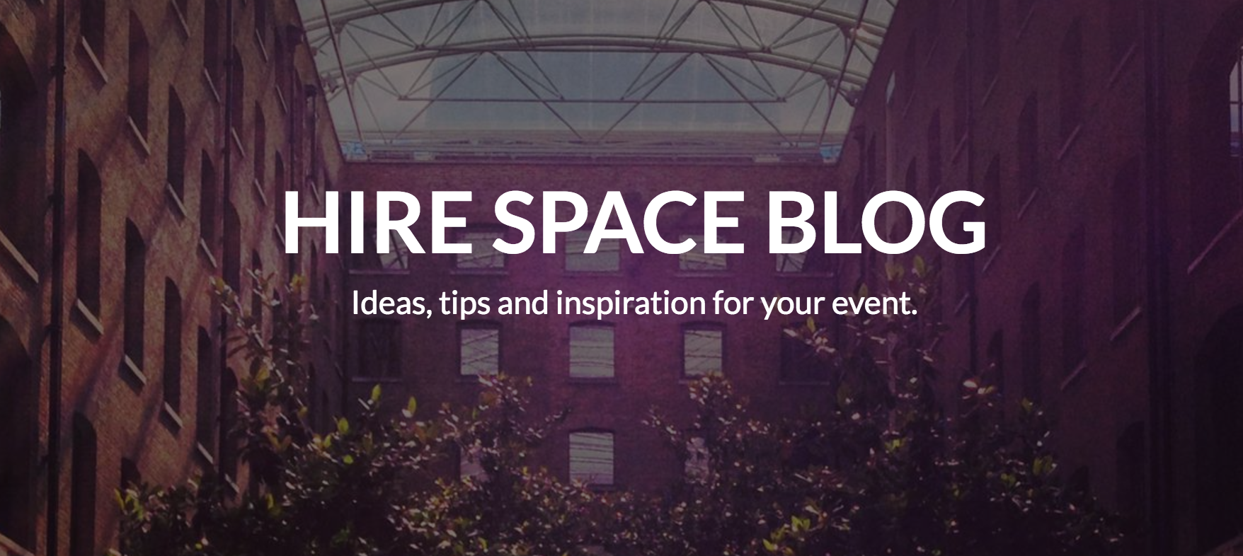 Hire Space blog