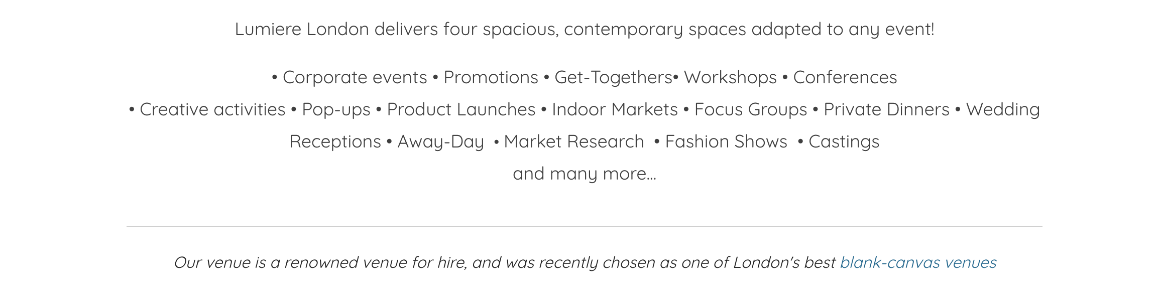 Feature on Hire Space
