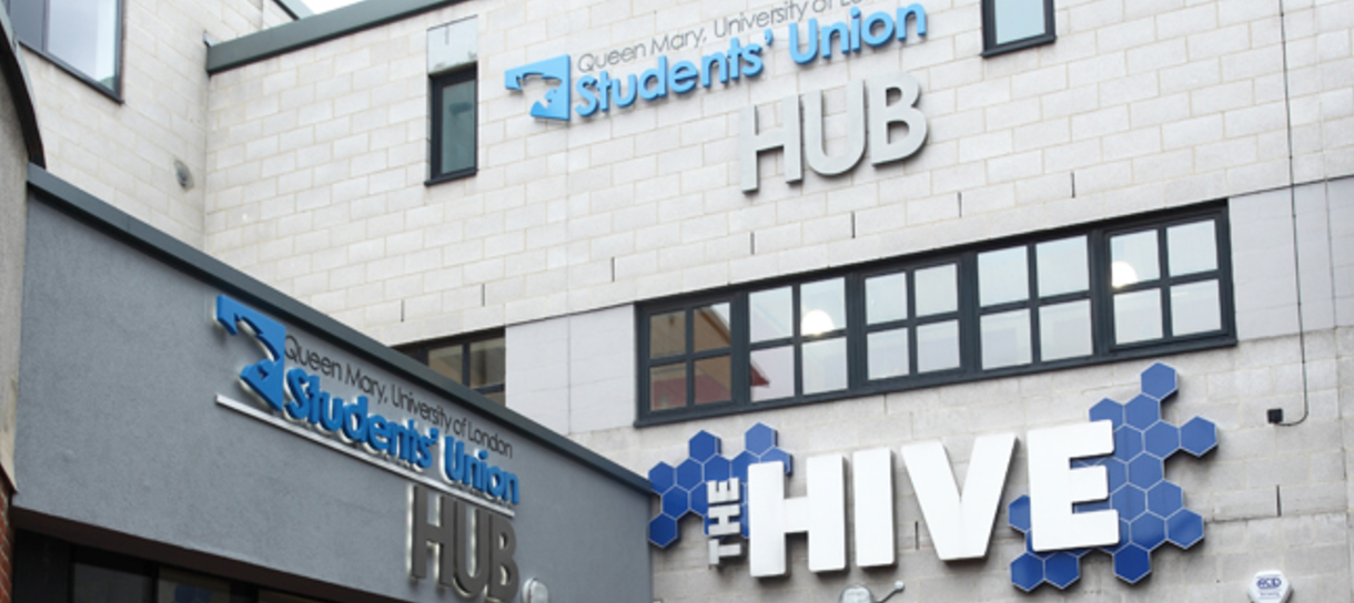 Queen Mary University Students' Union Hub