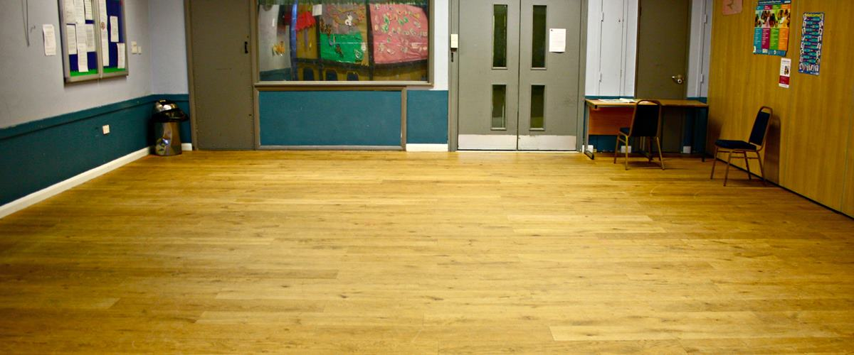 Photo of Main Hall at Queens Crescent Community Centre