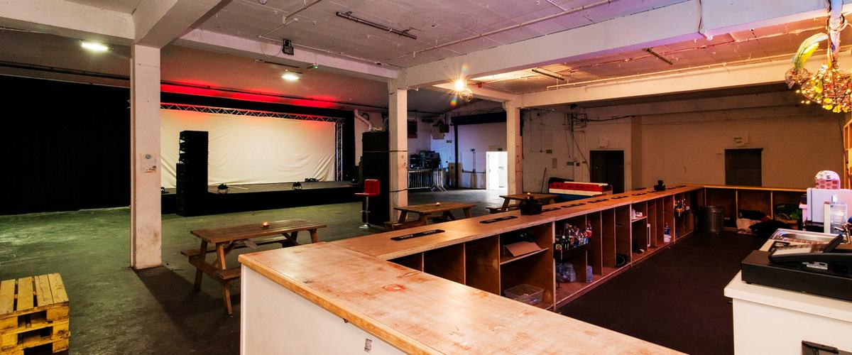 Photo of Whole Venue at SHAPES, HACKNEY