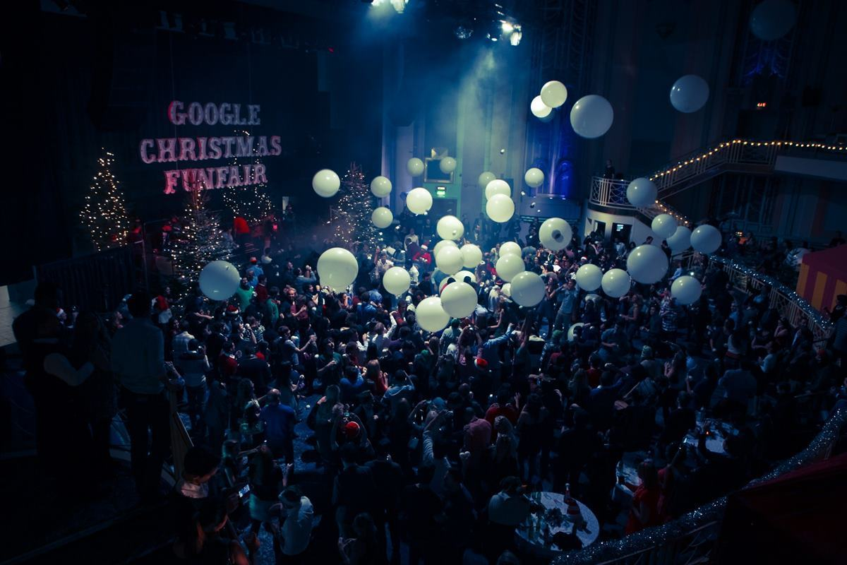 Google Christmas FunFair