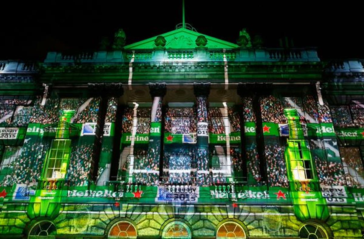 Heineken Rugby World Cup Events Marketing