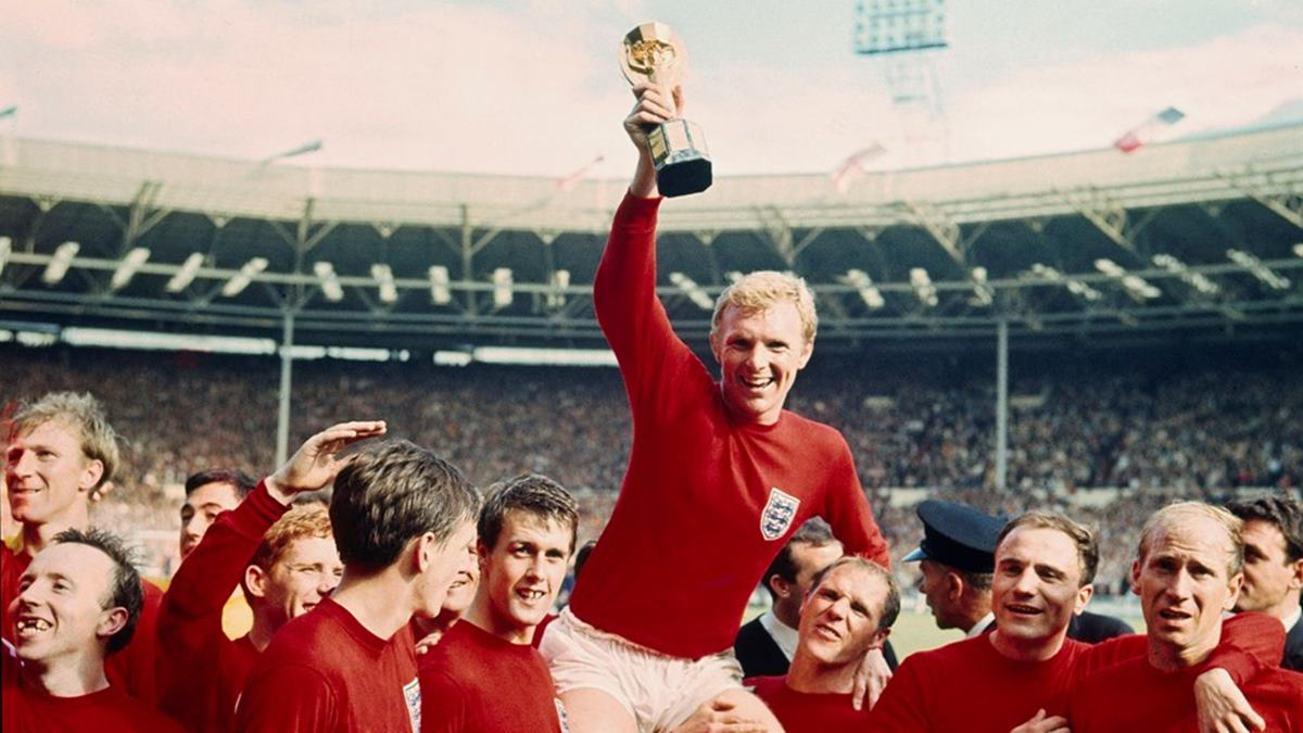 England Wins the World Cup '66 at wembley stadium
