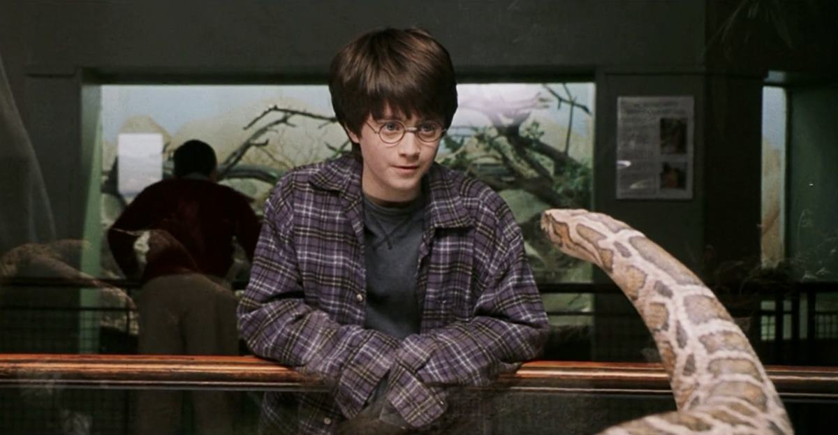 London Zoo reptile house Harry Potter