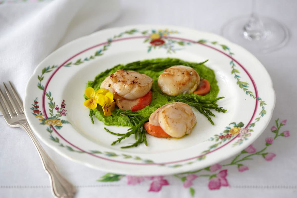Caiger and Co scallops