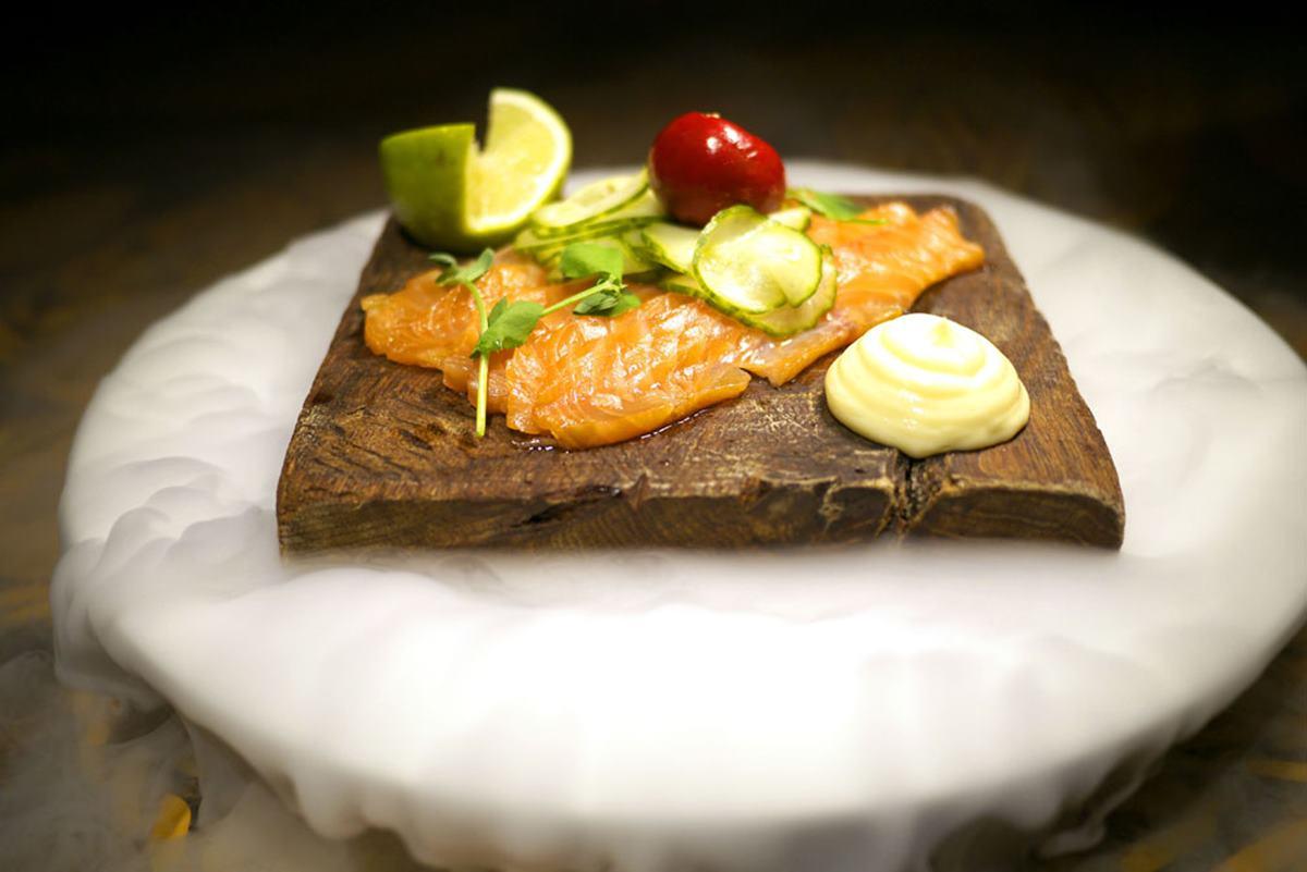 Shaka Zulu salmon